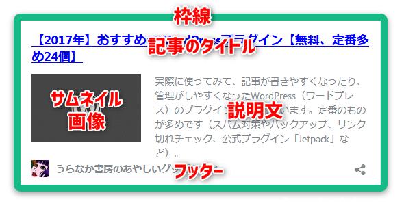 ワードプレス 公式の埋め込みブログカード(oEmbed)
