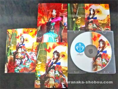 「Metalily(メタリリー)」から届いたL版変身写真とCD-R