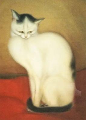 稲垣仲静『猫』