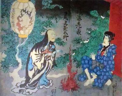 国芳「東海道四谷怪談」