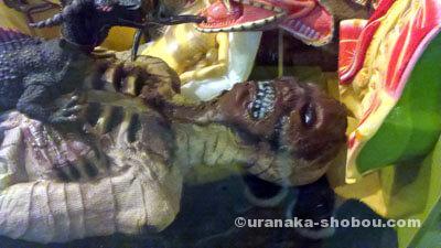 「怪しい少年少女博物館」ミイラっぽいオブジェ