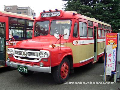 青梅ボンネットバス