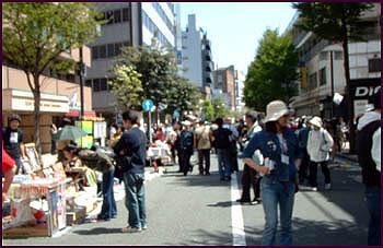 「第4回吉田町アート&ジャズフェスティバル」通りの様子